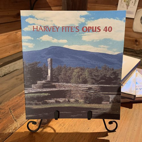 Harvey Fite's Opus 40 book
