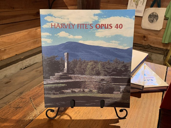Harvey Fite's Opus 40 book