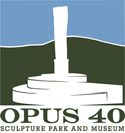 Opus 40 Sculpture Park and Museum logo