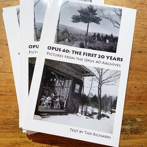 Opus 40, The First 30 Years book