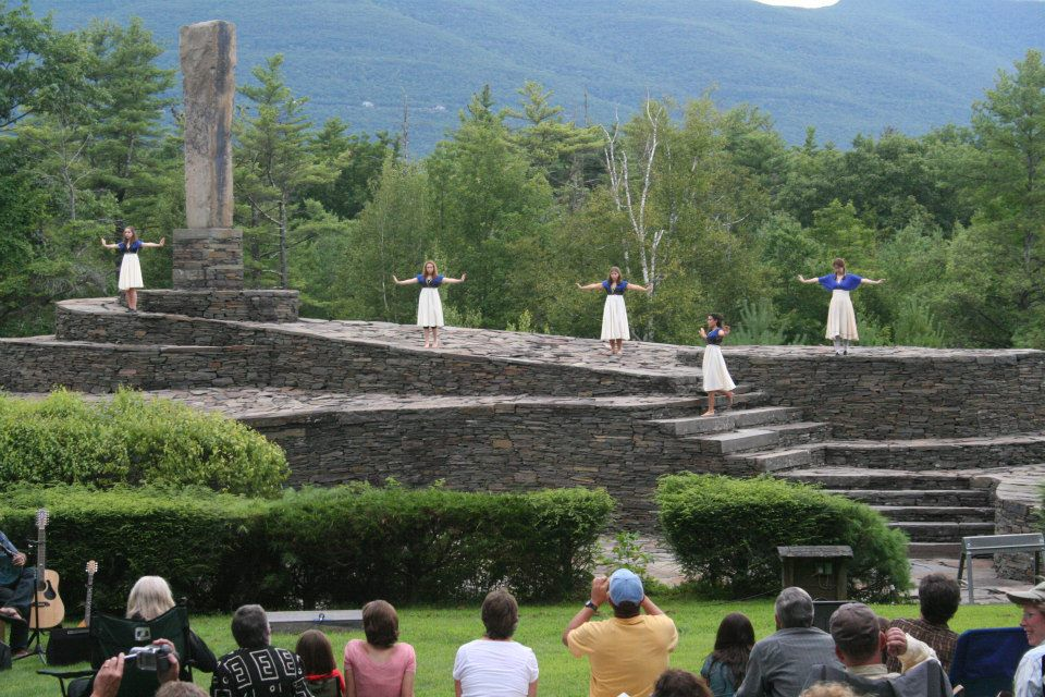 Theatre Performance at Opus 40