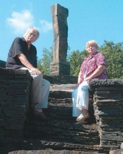 Pat and Tad Richards Lead Opus 40, Inc.