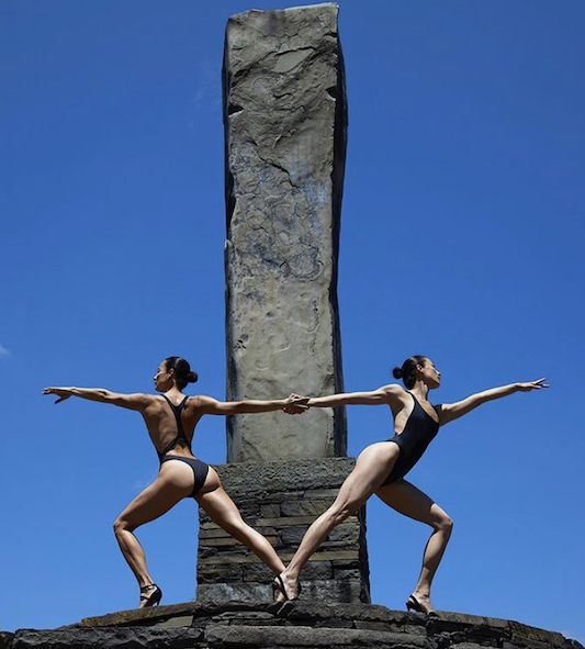 The Chin Twins by Nigel Barker at Opus 40