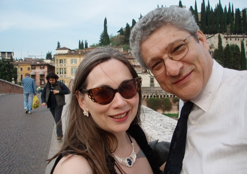 Moira Egan and Damiano Abeni in Italy