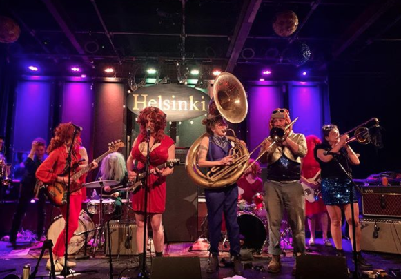 Brasskill playing at the Avalon in Catskill